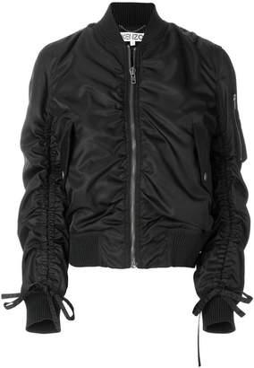 Kenzo ruched bomber jacket