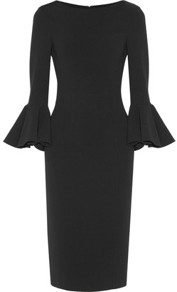 Michael Kors Collection - Stretch-wool Dress - Black $1,995 thestylecure.com
