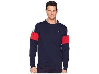 Lacoste Sport Semi Fancy Sweatshirt w/ Contrast Color Yoke