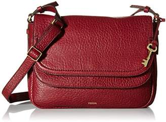 Fossil Peyton Large Double Flap Crossbody $238 thestylecure.com