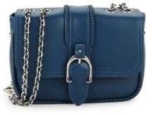 Longchamp Chained Leather Crossbody Bag
