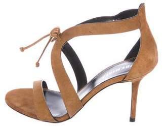 Premiata Suede Lace-Up Sandals