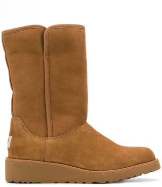 UGG low heel shearling boots