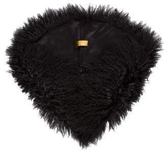 Nicole Miller Mongolian Fur Stole