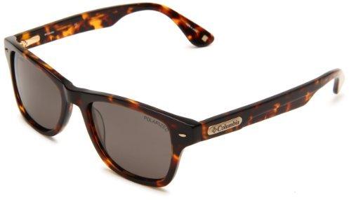 Columbia Bridger Square Sunglasses,Tortoise Frame/Brown Lens,One Size