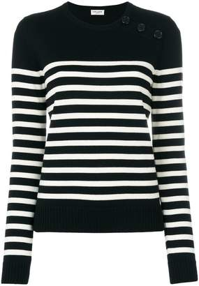 Saint Laurent striped top