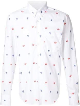 Naked & Famous Denim printed shirt