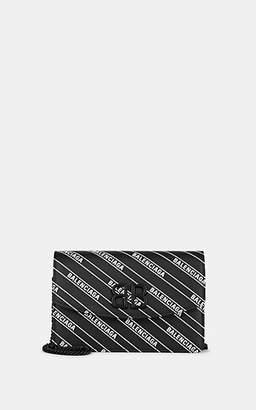 a8f60c44d4 Balenciaga Women's BB Leather Chain Wallet - Wht.&blk.