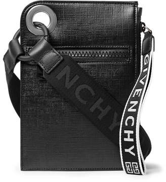 Givenchy Jaw Textured Coated-Canvas Messenger Bag