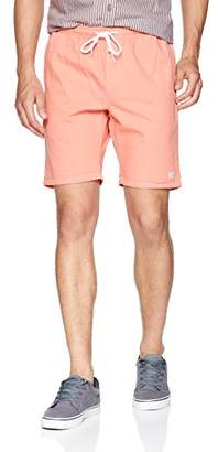 Obey Men's KEBLE Elastic Waist Denim Short,L