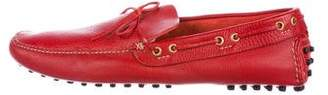 Car Shoe Leather Driving Loafers w/ Tags