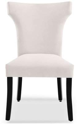 DHI Florence Upholstered Wing Back Dining Chair, Multiple Colors