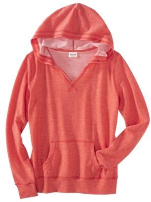 Mossimo Juniors V-Neck Hooded Sweatshirt - Assorted Colors