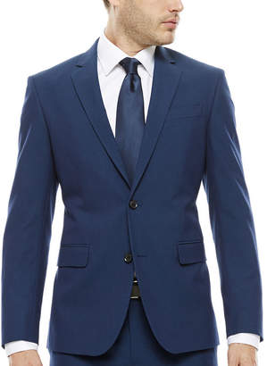 Jf J.Ferrar JF Blue Stretch Jacket - Super Slim-Fit