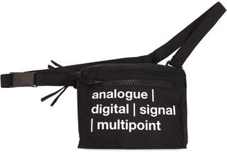 Tdt Tourne De Transmission Lost Multipoint Nylon Crossbody Bag