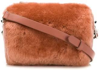 Desa 1972 fur camera crossbody bag
