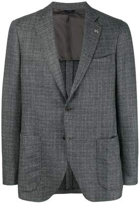 Tombolini single-breasted tweed blazer