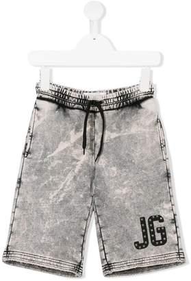 John Galliano bleach effect casual shorts