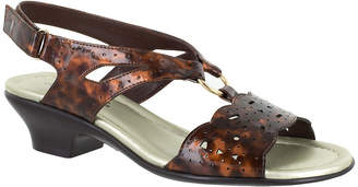 Easy Street Shoes Womens Excite Heeled Sandals