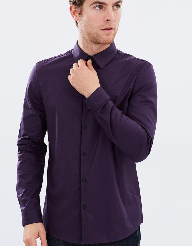 LS Plum Shirt