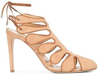 Chloé Gosselin cut out ankle strap sandals