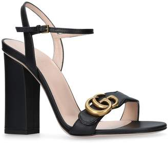 71d0d5a9410 Gucci Marmont Sandals - ShopStyle