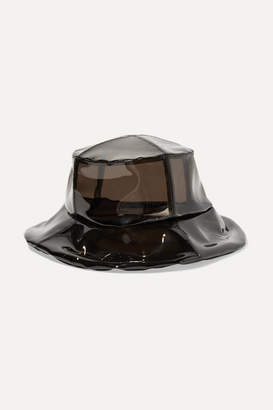 CLYDE Vinyl Bucket Hat - Black