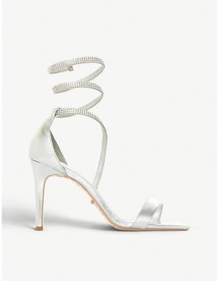Dune Mylie diamante wrap around sandals
