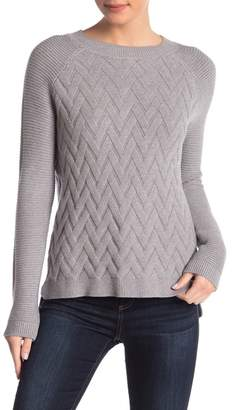 Cyrus Basket Weave Pullover