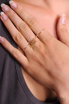 Iwona Ludyga Design Double Rock Ring