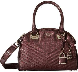GUESS Halley Small Cali Satchel Satchel Handbags