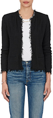 IRO Women's Shavani Cotton-Blend Jacket $380 thestylecure.com