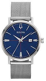 Bulova Men's AeroJet Stainless Steel Mesh Bracelet Watch