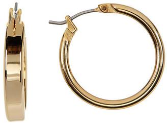 Nordstrom Polished Medium Hoop Earrings $22 thestylecure.com