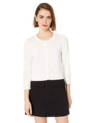 Karl Lagerfeld Paris Women's Cardi with Pearl Buttons,S