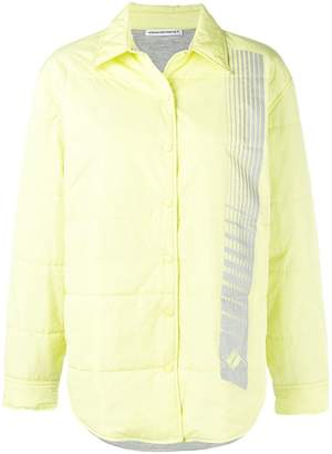 Alexander Wang quilted straight jacket