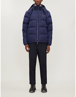 Polo Ralph Lauren Water-repellent shell-down jacket