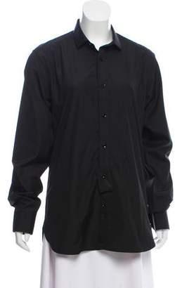 Saint Laurent 2015 Woven Dress Shirt w/ Tags