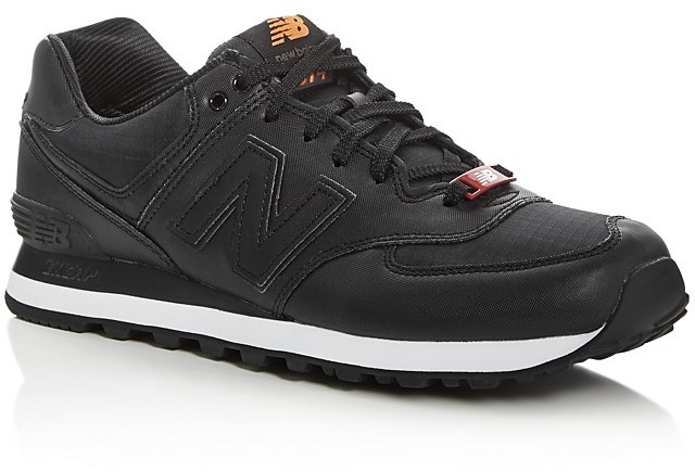 New Balance Men's 574 Flight Jacket Lace Up Sneakers