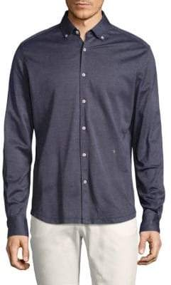 Vilebrequin Classic Cotton Button-Down Shirt