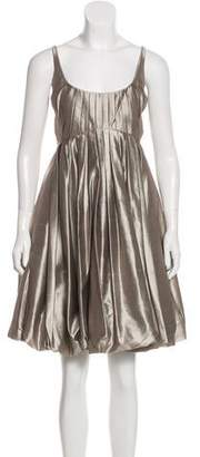 Zac Posen Sleeveless Mini Dress