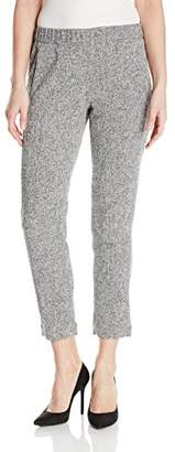 Ellen Tracy Women's Textured Pull-on Pant