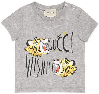 Gucci Wishify Tiger Graphic Tee, Size 3-36 Months