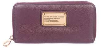 Marc by Marc Jacobs Leather Zip-Around Wallet