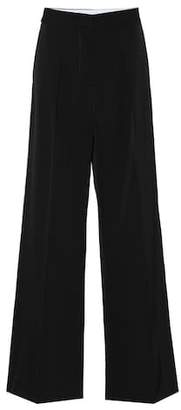 Stella McCartney Pleat-front wool pants