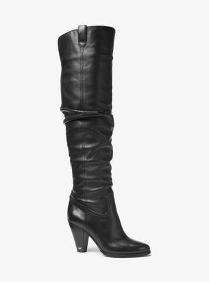 MICHAEL Michael Kors Divia Nappa Leather Boot
