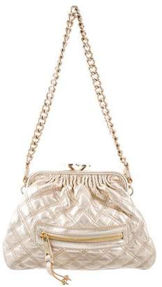 2dc3f92414b7 Marc Jacobs Quilted Bag With Gold Chain - ShopStyle