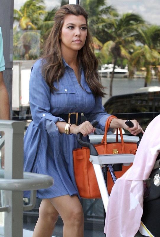 Tencel Greylin Enzyme Washed and Sanded Shirt Dress as Seen On Kourtney Kardashian