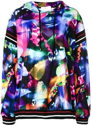 Koché abstract print hoodie