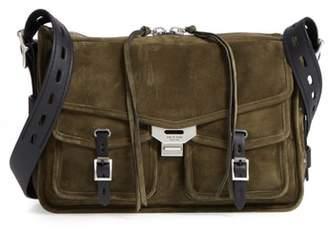 Rag & Bone Field Messenger Suede Shoulder Bag